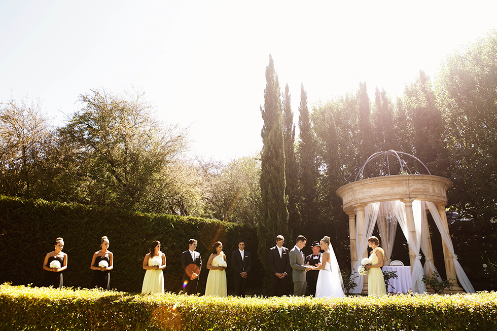 adelaide hills wedding venue garden ceremony