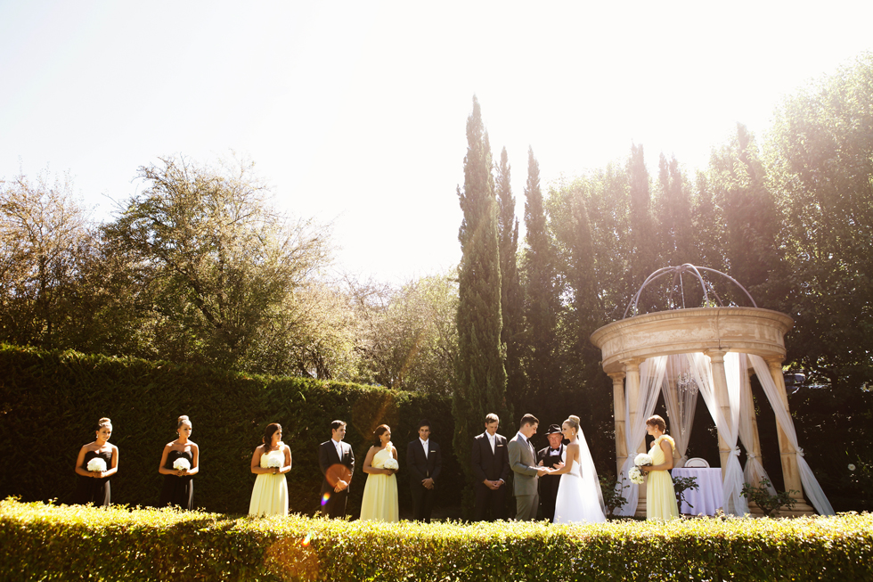 adelaide hills wedding venue garden ceremony silvestri
